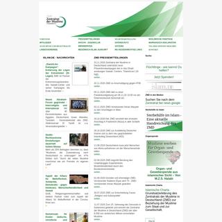 zentralrat.de - ZMD Pressemitteilungen -