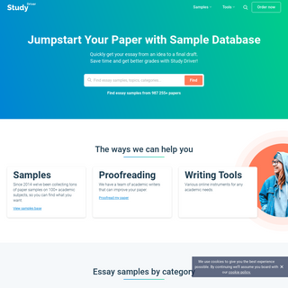 100- Free Essay Examples With NO Sign Up - College Papers Online - StudyDriver