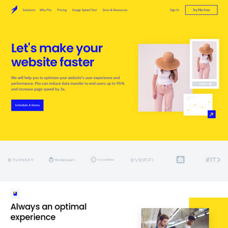 Piio - Let`s make your website faster