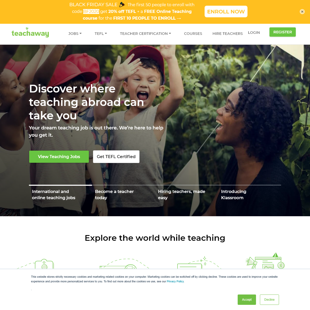 Teach Abroad or Online - Your Dream Teaching Job Awaits