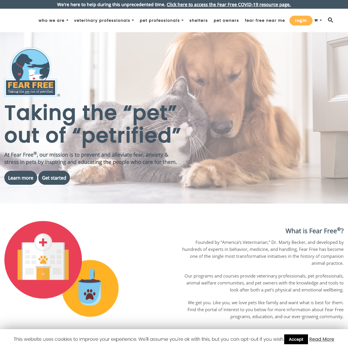 Fear Free Pets - Taking the -Pet- Out of -Petrified- for All Animals