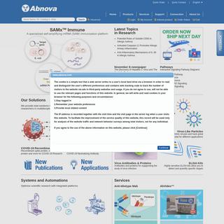 Abnova - Innovate through Integrated Solutions