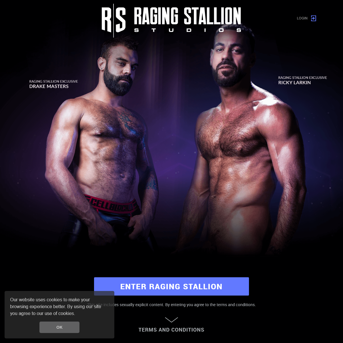 Welcome to Raging Stallion - Hardcore Gay Porn
