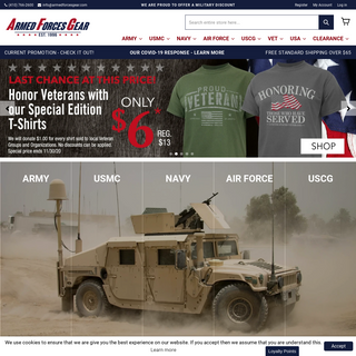 Official US Army, Navy, Air Force and Marines Military Merchandise
