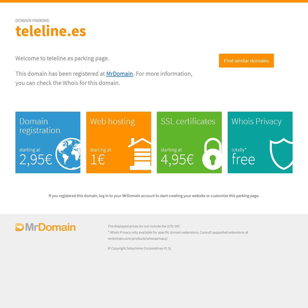 teleline.es - Registered at