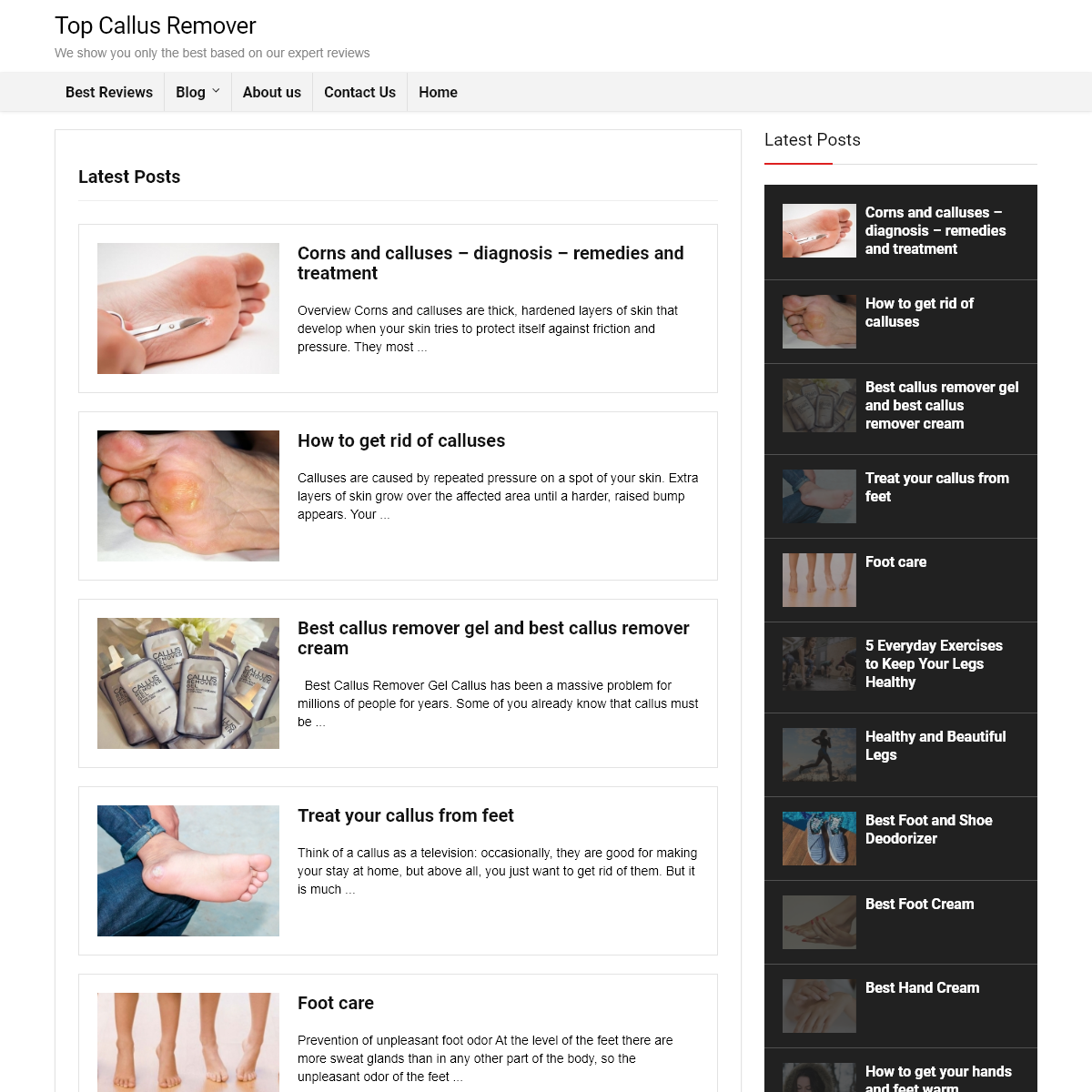 Top Callus Remover - We show you only the best based on our expert reviews
