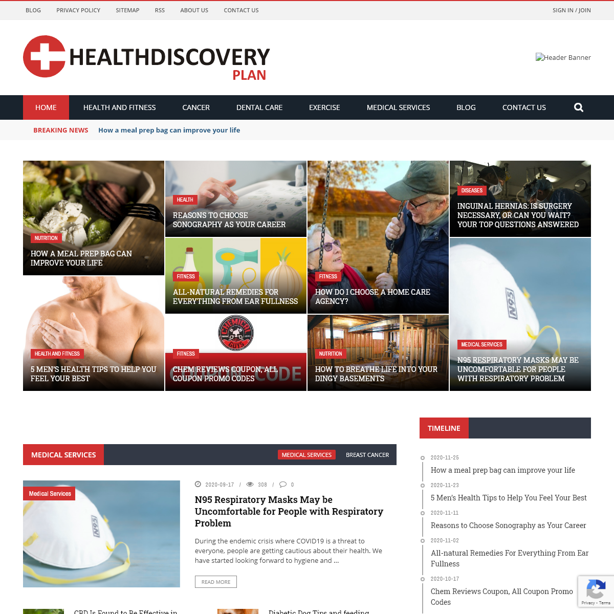 Home - Health Discovery Plan