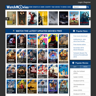 Watch movies free on the old site Watchmoviesfree. No need to pay to watch movies.