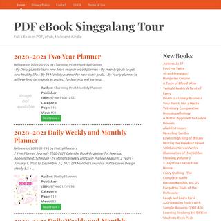 Full eBook in PDF, ePub, Mobi and Kindle – PDF eBook Singgalang Tour