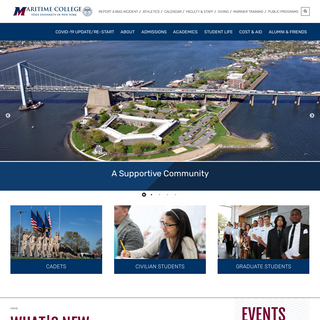 Home - SUNY Maritime College