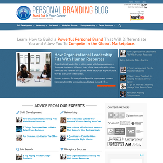 Home - Personal Branding Blog - Stand Out In Your Career