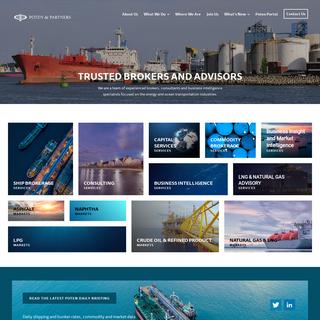Poten & Partners- Energy And Ship Brokerage