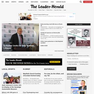 News, Sports, Jobs - Leader Herald