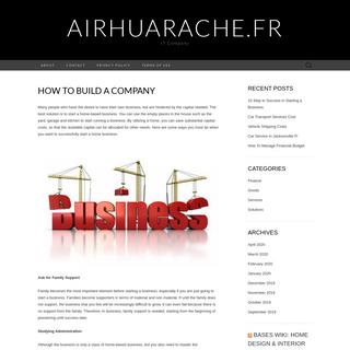 airhuarache.fr – IT Company