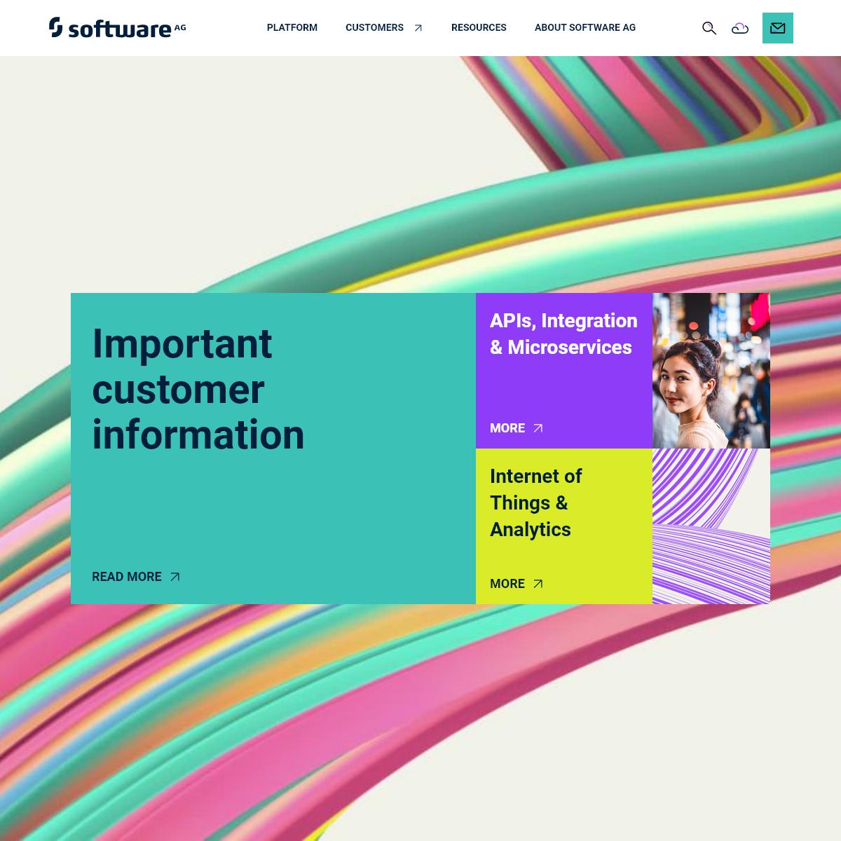Enterprise Integration & IoT Platform - Software AG