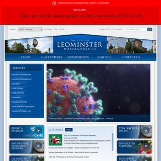 Leominster - Home