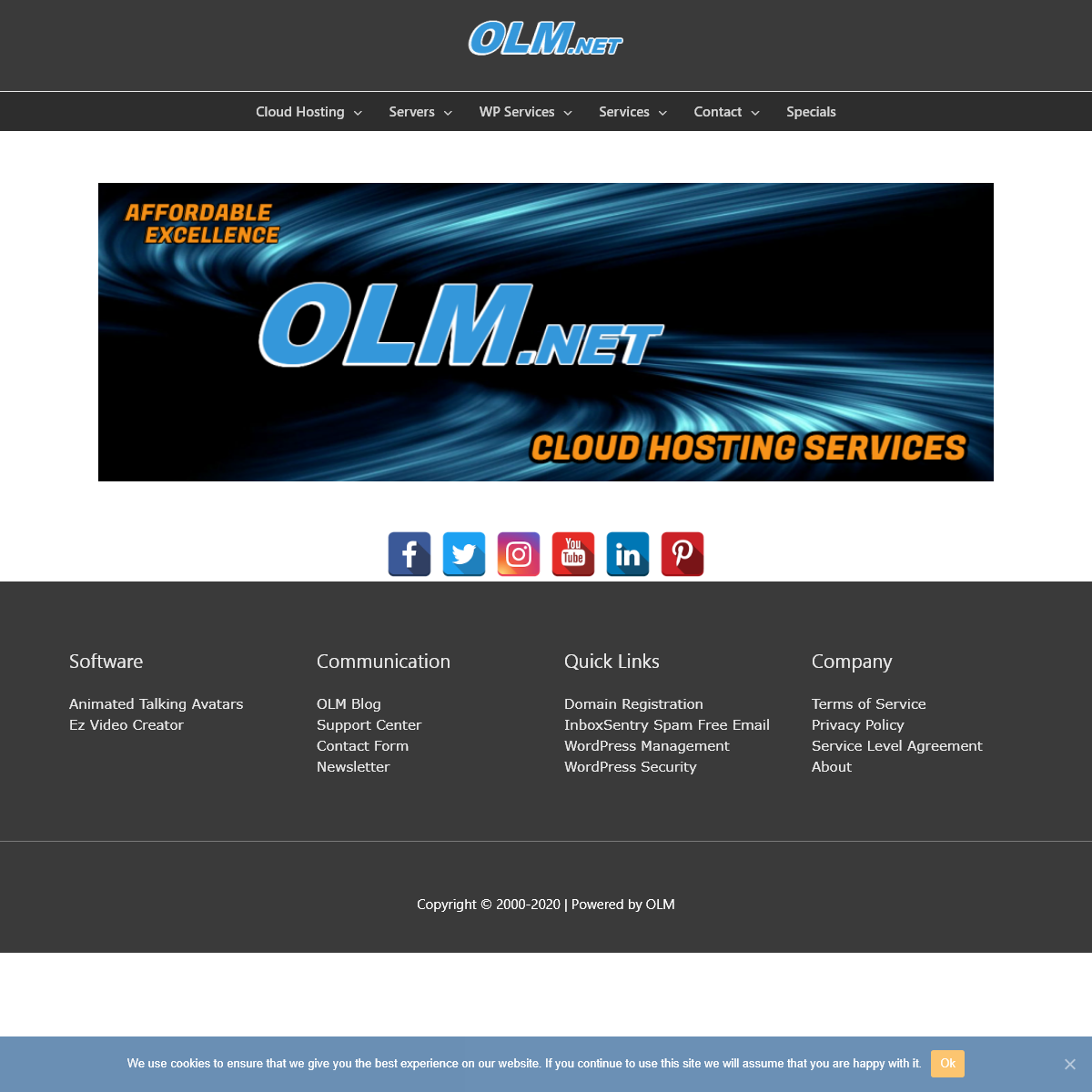OLM.net Cloud Hosting Services, Its never been so easy!