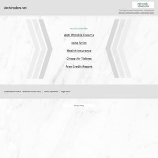 Archirodon.net