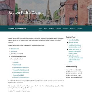Repton Parish Council –