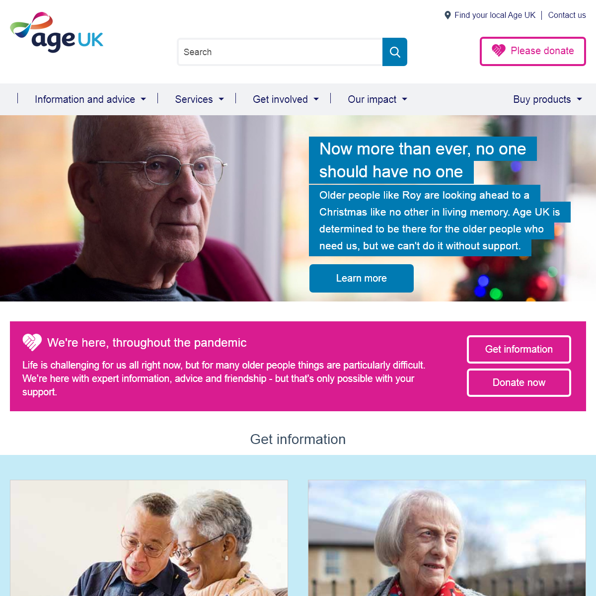 Age UK - The UK`s leading charity helping every older person who needs us