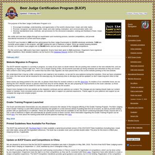 Beer Judge Certification Program (BJCP)