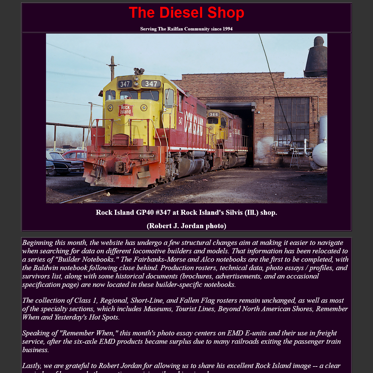 THE DIESEL SHOP