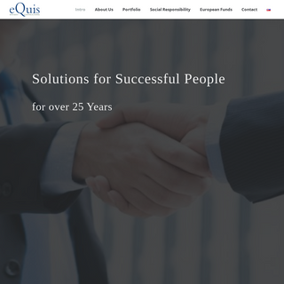 Introduction - EQUIS INVEST CONSULTING