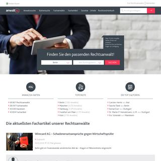 anwalt24.de - Den richtigen Anwalt für Ihr Rechtsproblem finden