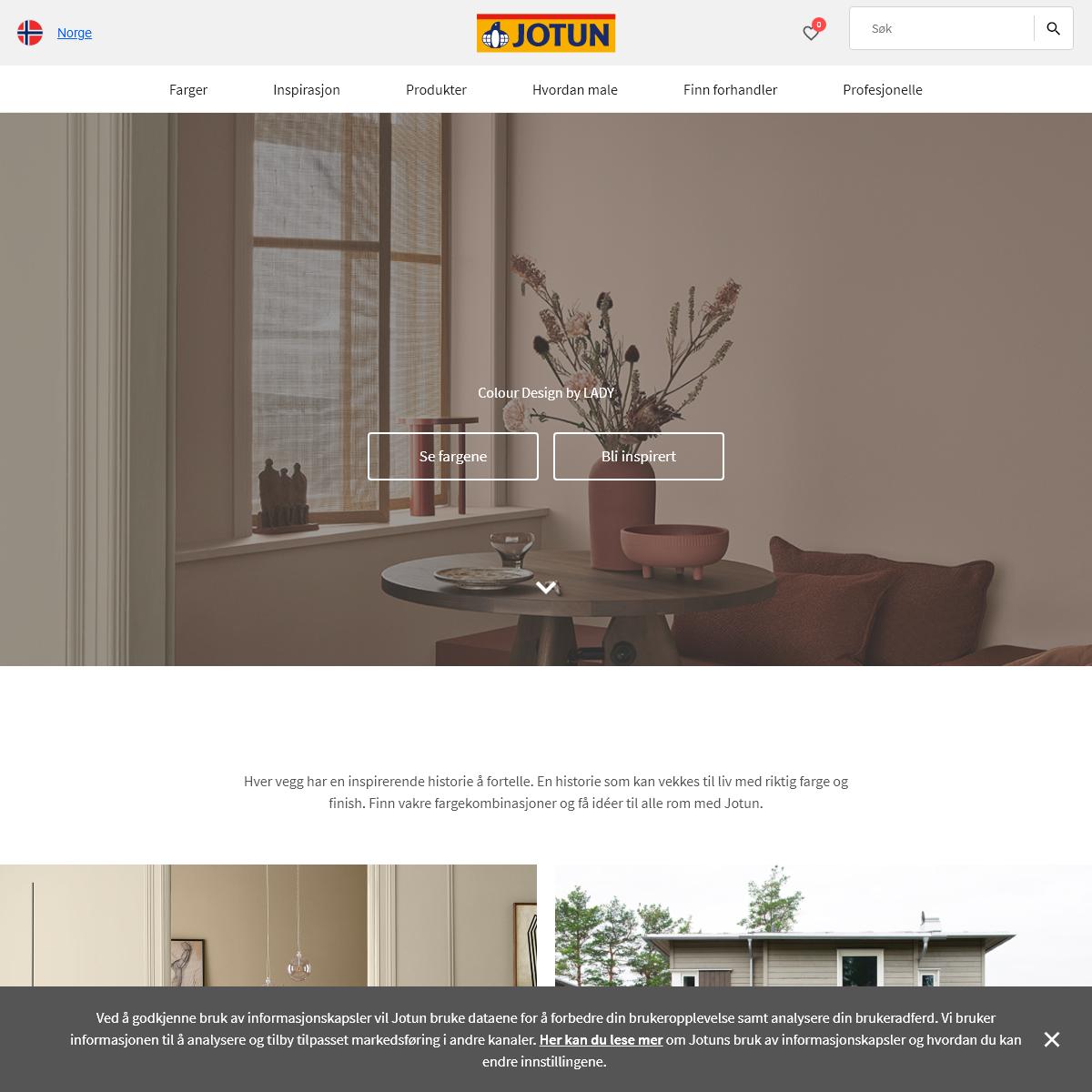 Maling - Jotuns hjemmeside - Jotun.no
