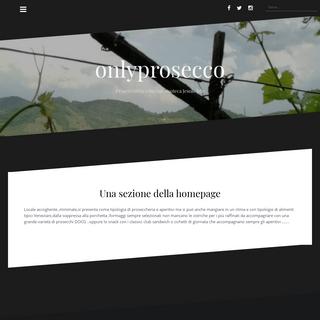 onlyprosecco – Proseccheria wine bar enoteca Jesolo lido