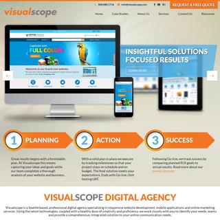Visualscope Web Design Company - Seattle WA
