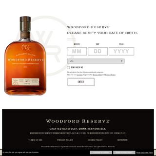 Homepage - Woodford Reserve