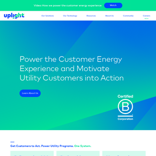 Unify Residential & Commercial Customer Energy Experience - Uplight