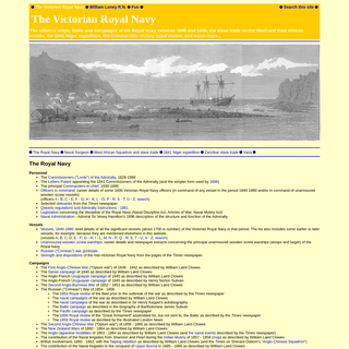 Victorian Royal Navy