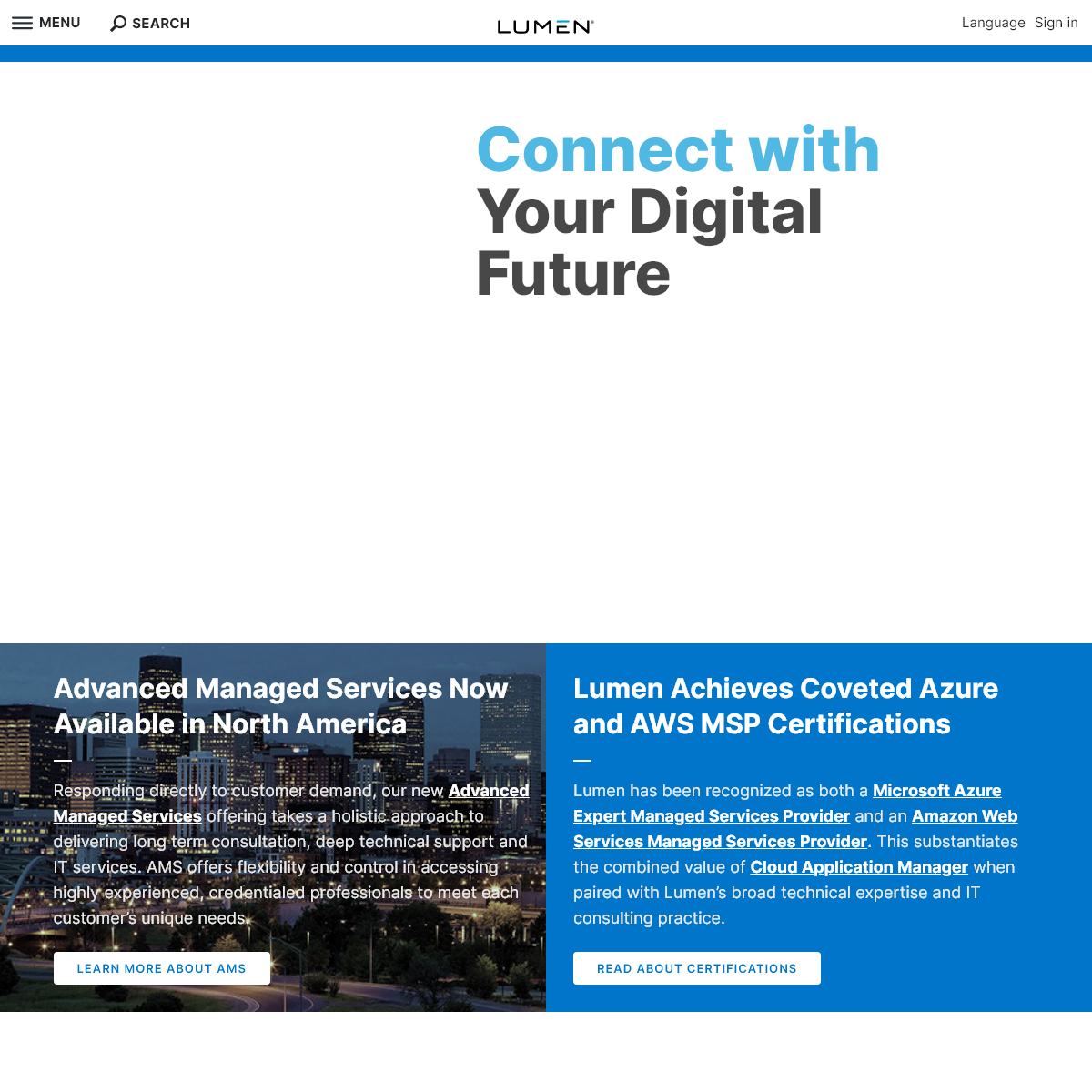 Cloud Computing Services and Managed Services - Hybrid Cloud and IT Solutions