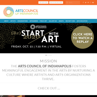Home - Arts Council of Indianapolis
