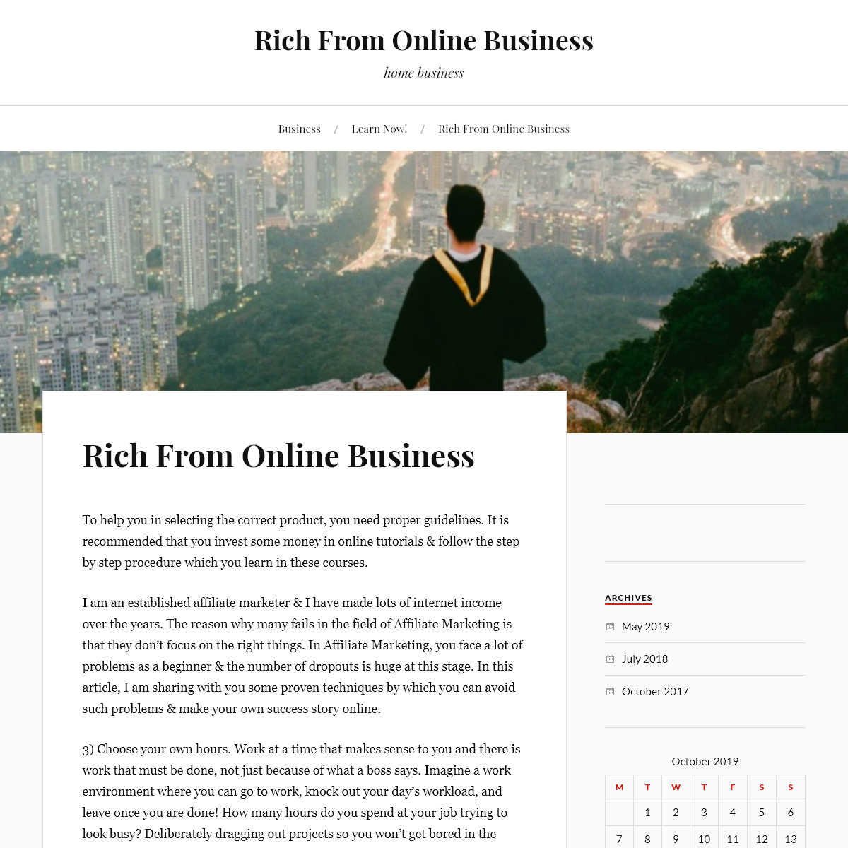 Rich From Online Business – home business