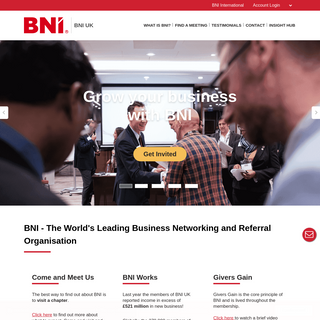 BNI- Changing the Way the World Does Business®
