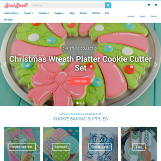 Semi Sweet Designs - Cookie Cutters & Cookie Decorating Ideas
