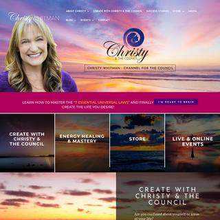 Christy Whitman - NY TImes Bestselling Author