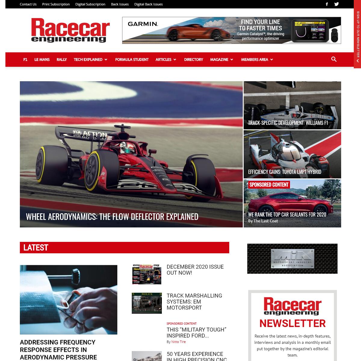 Racecar Engineering » Motorsport - Racing - Technology