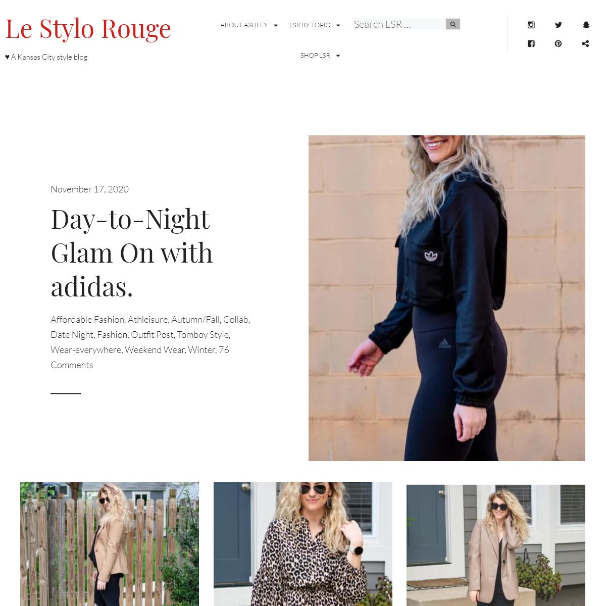 Le Stylo Rouge - A Kansas City style blog