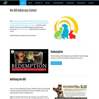 No Kill Advocacy Center - Home