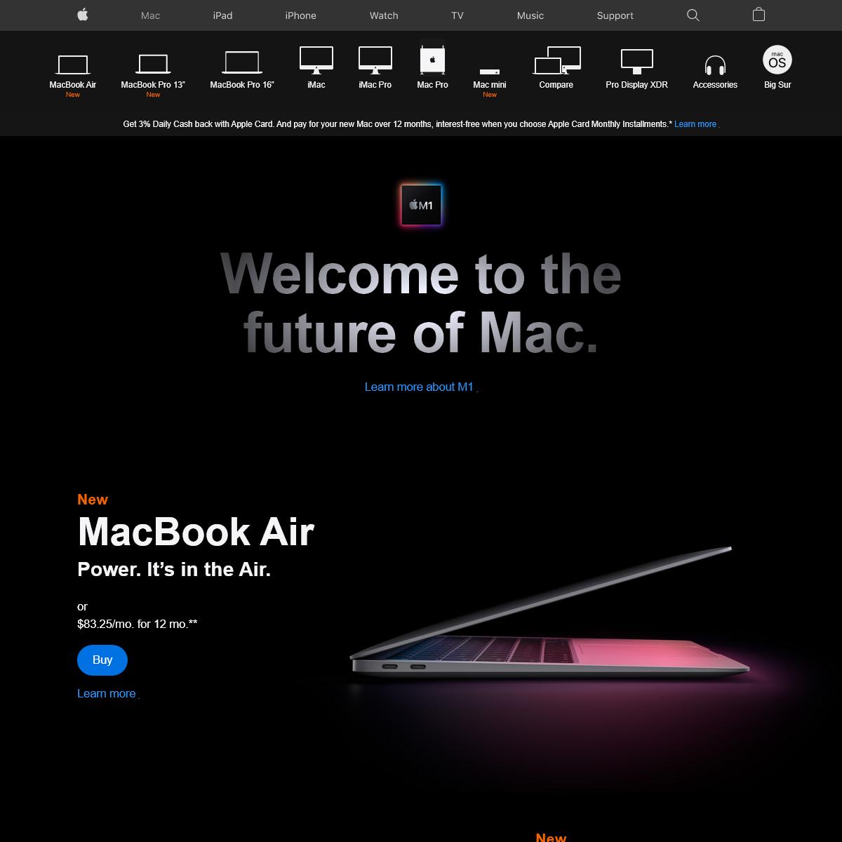 Mac - Apple