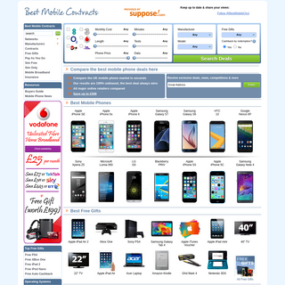Best Mobile Contracts – Compare UK Mobile Phone Deals