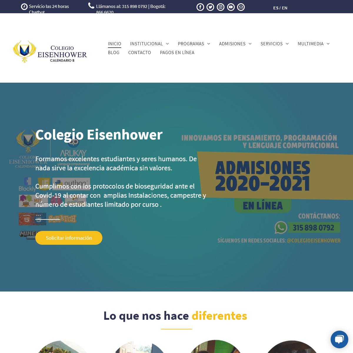 Colegio Bilingüe Eisenhower, 30 años educando con excelencia