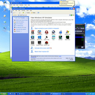 Geek Prank 😈 Windows XP and Other Online Pranks