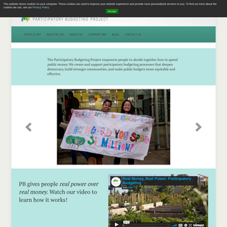 Home - Participatory Budgeting Project