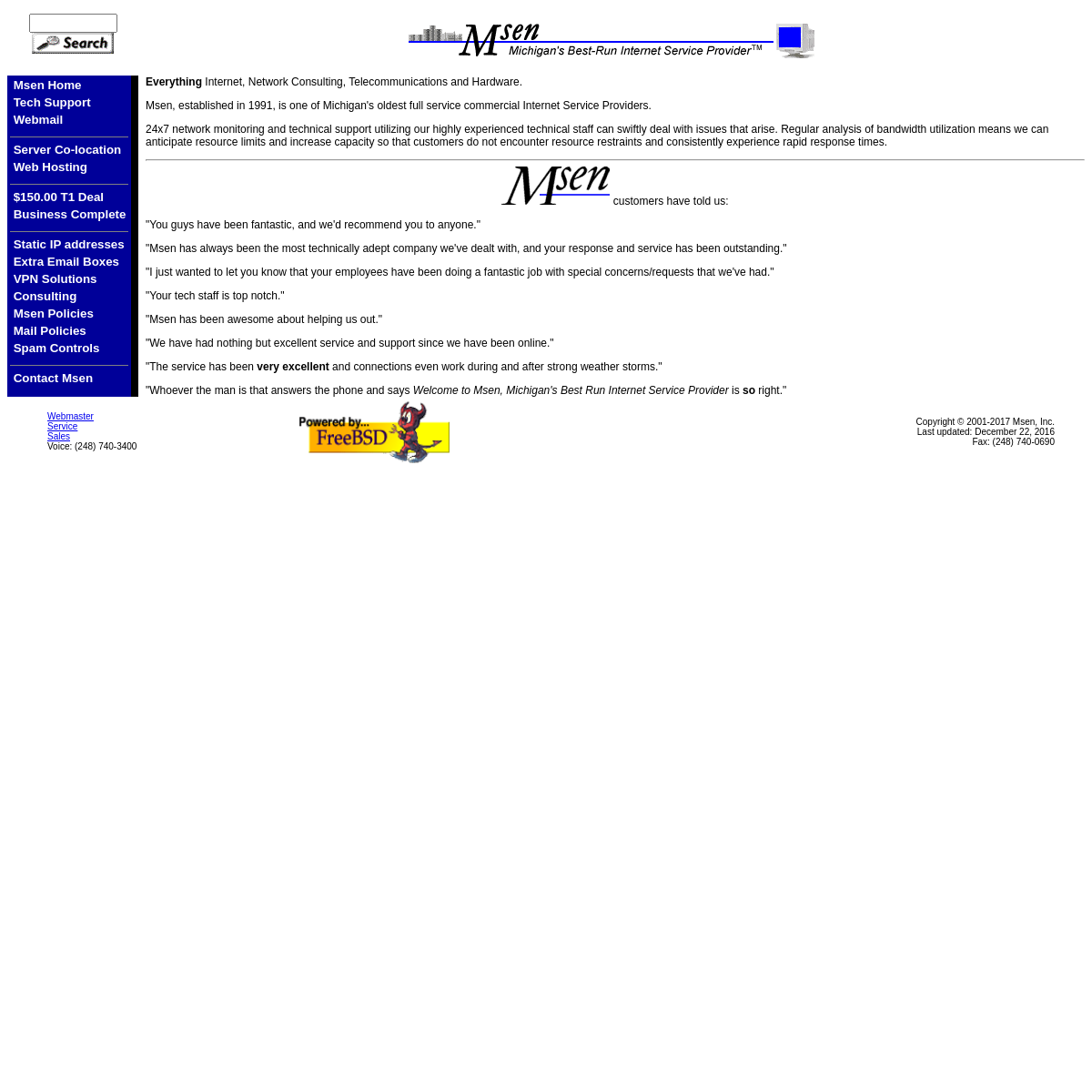 Msen Home Page