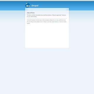 Site off-line - Drupal